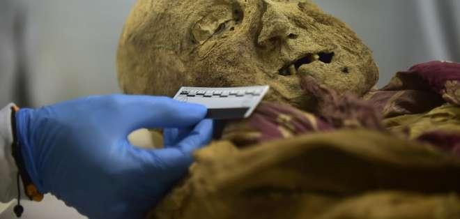 Momia de Ecuador, la clave para descifrar cómo llegó dolorosa enfermedad a Europa. Foto: AFP