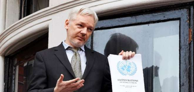 El hacker pidió al organismo medidas cautelares para salvaguardar su asilo en Londres. Foto: Archivo/AFP.