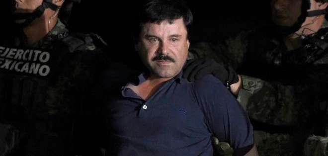 """""""El Chapo"""" Guzmán puede recibir una sentencia a cadena perpetua si es hallado culpable."""