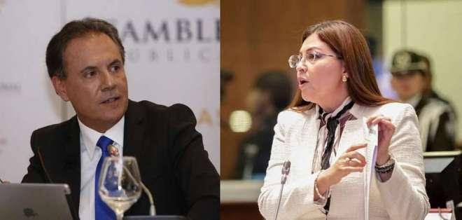 ECUADOR.- El canciller ecuatoriano informó que Ochoa y Espín son requeridos por delitos comunes. Collage: Ecuavisa