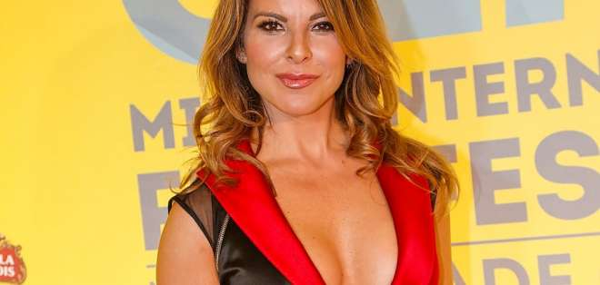 La actriz acusó a Enrique Peña Nieto de haber aceptado 100 millones de dólares del narcotraficante. Foto: AFP
