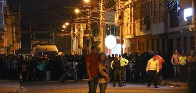IBARRA, Ecuador.- Defensa de policías que participaron en operativo reveló que un tercero denunció maltrato hacia Diana. F: API.