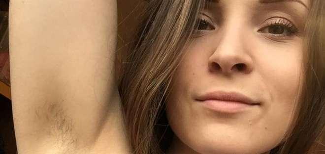 """Laura Jackson dice que se ha visto sobrepasada por las reacciones a su campaña """"Januhairy""""."""