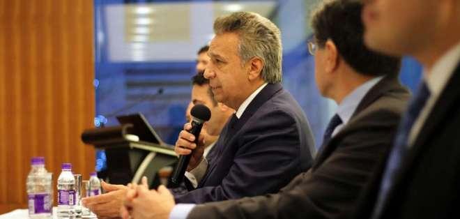 Presidente Moreno firmó 2 decretos para oficializar los nuevos titulares. Foto: Archivo Flickr Presidencia