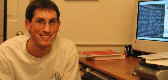 Aaron Greenspan fue compañero de Mark Zuckerberg en Harvard. 'Éramos amigos', le dice a BBC Mundo. La imagen es de 2003.