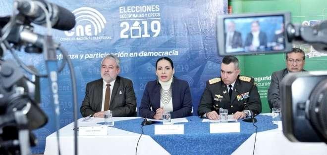 Atamaint aseguró que el proceso se realizará con transparencia. Foto: CNE