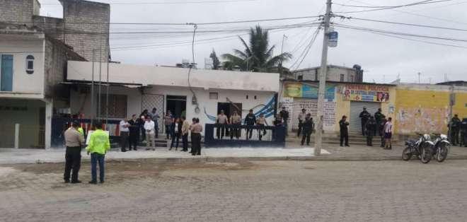 POSORJA, Ecuador.- Las otras 7 personas procesadas pasan a juicio en calidad de coautores del linchamiento. Foto: Archivo