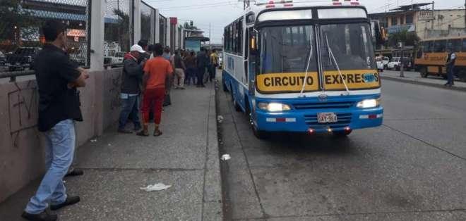 Transporte de Guayaquil implementa ruta exprés. Foto: ATM