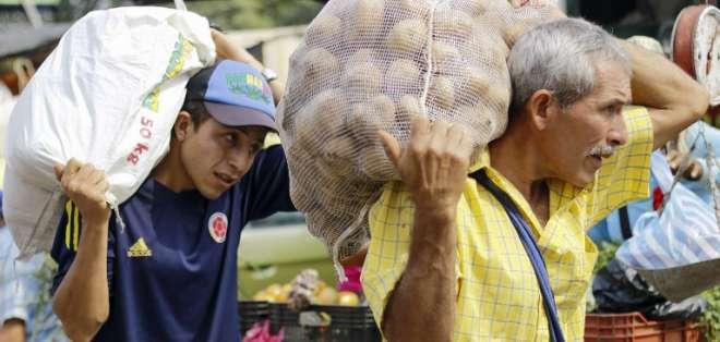 La ayuda humanitaria, arma política en pugna Maduro-Guaidó. Foto: AFP