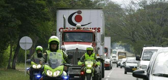 """Guaidó advierte a militares que bloqueo de ayuda es crimen de """"lesa humanidad"""". Foto: AP"""