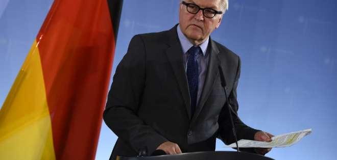 Frank-Walter Steinmeier recibirá Orden Nacional al Mérito en el grado de Gran Collar. Foto: AFP.