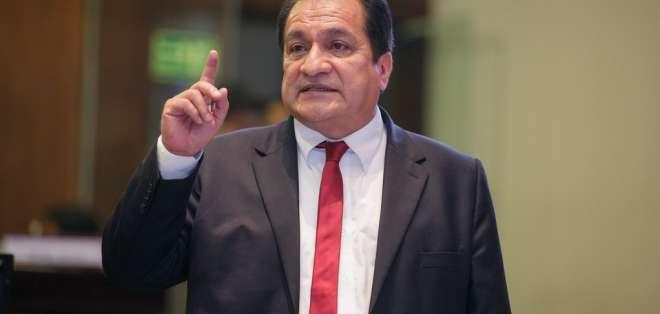 ECUADOR.- Según examen especial, el asambleísta usó instalaciones públicas para actos proselitistas. Foto: Asamblea