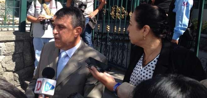 Patricia Ochoa, viuda de Gabela, señaló que el informe solo señala a funcionarios medios. Foto: Twitter