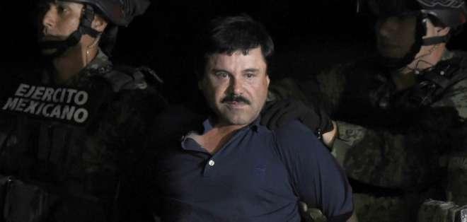 """El Chapo Guzmán es declarado """"culpable"""" de narcotráfico en EEUU. Foto: AFP - Archivo"""