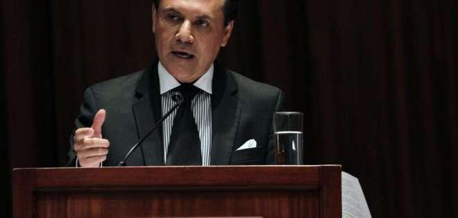 ECUADOR.- El exsuperintendente de Comunicación tiene prisión preventiva y se encuentra prófugo. Foto: Archivo