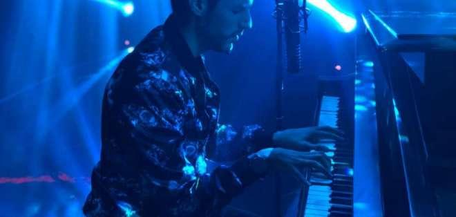 Sergio Vivar, de 33 años, se mantiene en la escena musical desde su adolescencia. Foto: Cortesía.