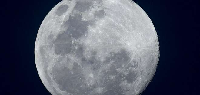 El martes 19 de febrero podremos observar la segunda superluna del año. Foto: AFP