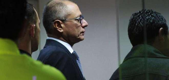 QUITO, Ecuador.- Mediante videoconferencia, Jorge Glas afirmó que su vida en cárcel de Latacunga corre peligro. Foto: Archivo