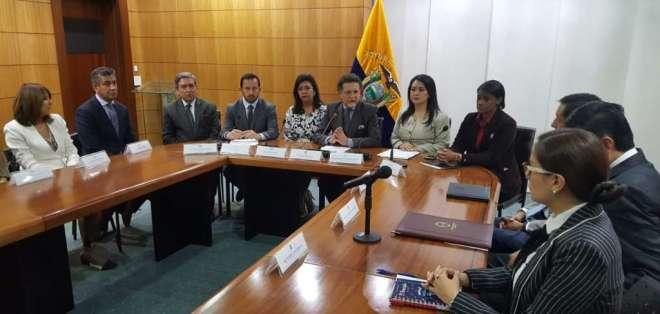 Celi aclaró que el convenio no subroga competencias de las instituciones del Estado. Foto: API