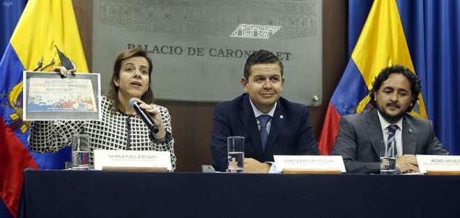 ECUADOR.- Según Michelena, La publicación se basó en datos difundidos en un chat de Telegram, el fin de semana. Foto: API