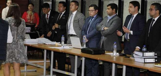 Diligencia se reinstalará el miércoles 27 de febrero de 2019, según dispuso jueza Sánchez. Foto: API