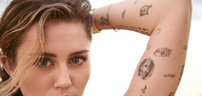 Miley Cyrus desafió las reglas de Instagram con un sensual desnudo. Foto: IG