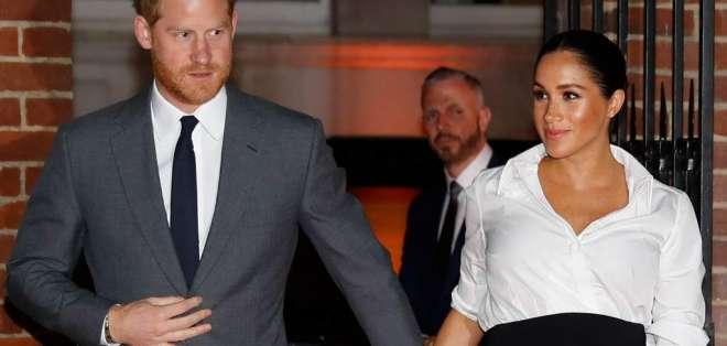 La duquesa de Sussex y el príncipe Harry está de viaje en Marruecos. Foto: Archivo AFP