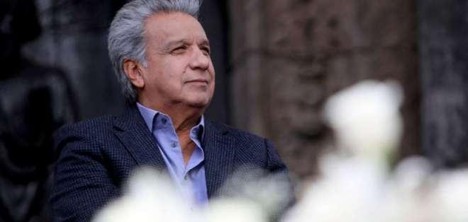 Moreno reaccionó a investigación que vincula a familiares con empresas en paraísos fiscales. Foto: Flickr Presidencia