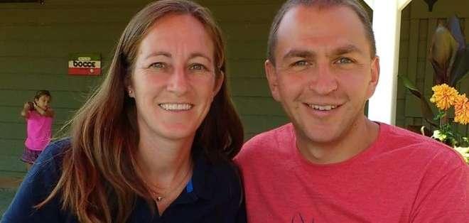 Laura y Brad Barrett tienen dos hijas pequeñas y viven en Virginia, en el este de Estados Unidos.
