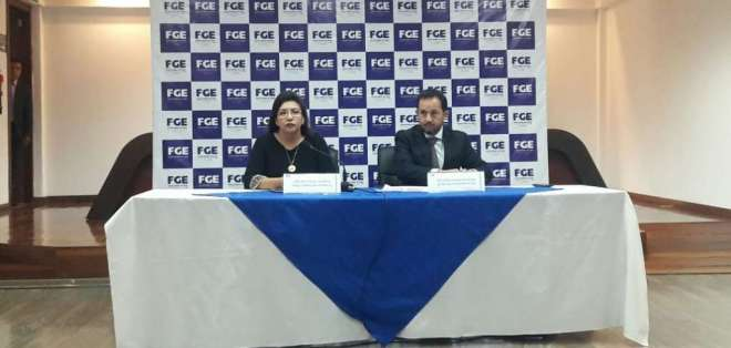 QUITO, Ecuador.- Ambas autoridades hablaron de su viaje a Brasil por Odebrecht y nuevo caso de corrupción. Foto: API
