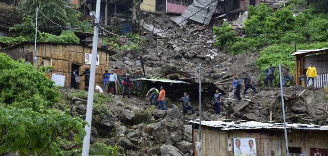MANTA, Manabí.- Autoridades intensifican atención en estas provincias tras intensas lluvias registradas. Foto: API.