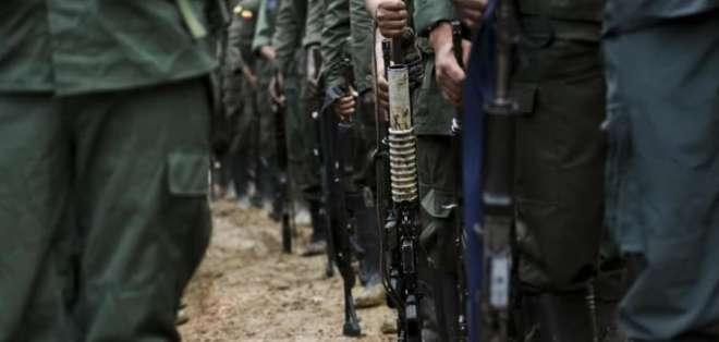 Sentencian a 14 integrantes del grupo Oliver Sinisterra. Foto: AFP