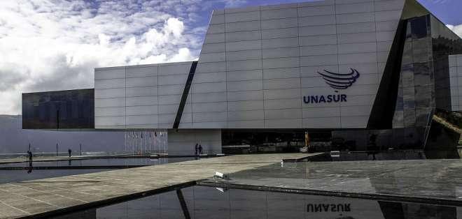 Gobierno pidió la reversión del edificio que ocupa en Quito, indicó el presidente. Foto: Archivo