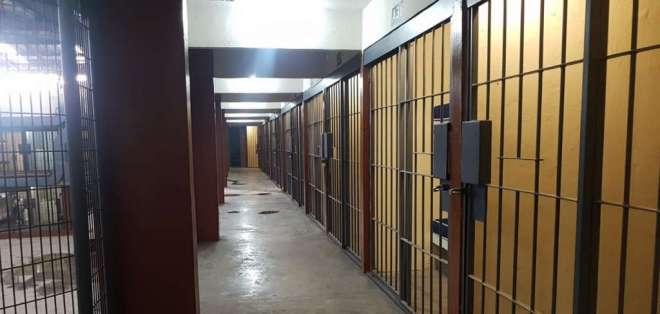 Autoridades reaperturaron provisionalmente centro de detención de máxima seguridad. Foto: @bessygranjaOK