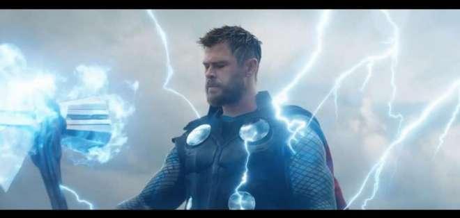 Tráiler de Avengers: Endgame muestra a la Capitana Marvel. Foto: Captura de video