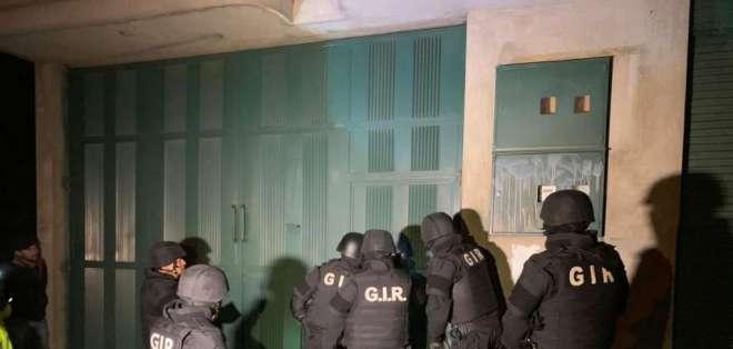 Operativo en varias provincias deja 60 personas detenidas. Foto: Policía Nacional