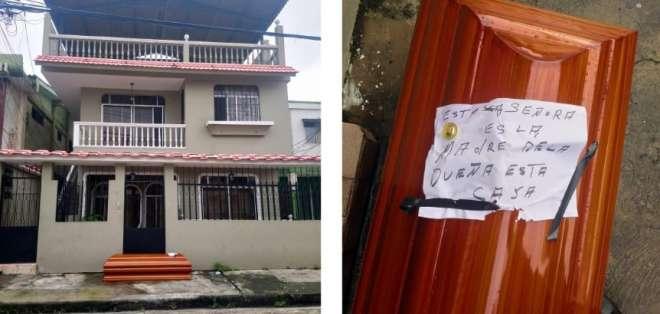 GUAYAQUIL, Ecuador.- El hijo de la occisa habría dejado el féretro abandonado en la acera.
