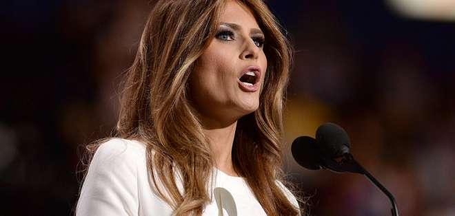 """¿Desenmascaran a """"la doble de Melania Trump""""?"""