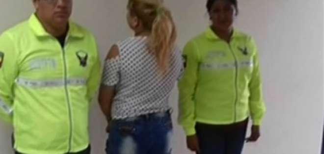 Dos detenidos por prostituir a una adolescente en Los Ríos. Foto: Captura de video