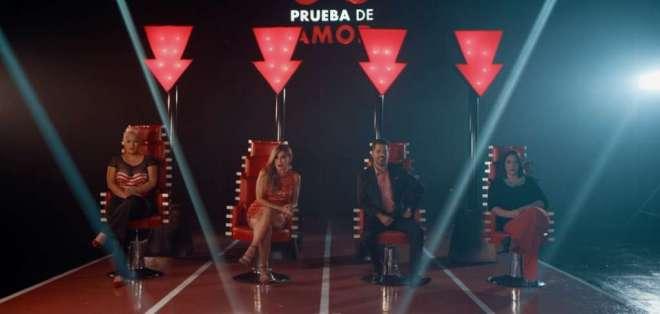'Prueba de Amor' se graba en los estudios de Ecuavisa al sur de Guayaquil.