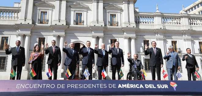 SANTIAGO, Chile.- Para muchos analistas, la exclusión de Venezuela es el principal motor de Prosur. Foto: Flickr Presidencia.
