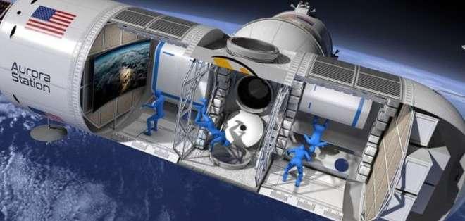 La estación espacial Aurora será el primer hotel espacial del mundo. Foto: ORION SPAN