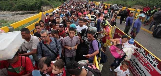 Perú regularizará a 300.000 nuevos migrantes venezolanos. Foto: AFP