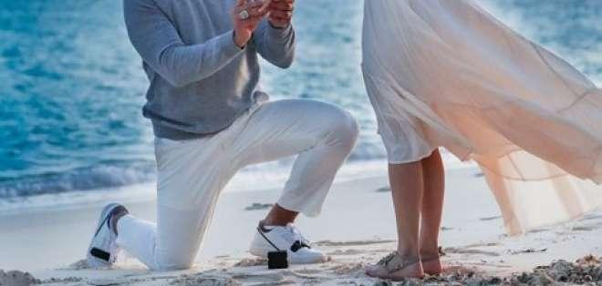 La pareja se comprometió el 12 de marzo. Foto: Intagram de Alex Rodríguez