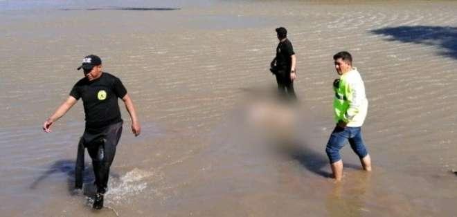 El ciudadano español desapareció el viernes 5 de abril mientras se bañaba en el río Jatunyacu. Foto: Policía