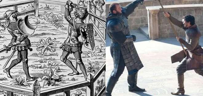 Los juicios por combate fue una práctica común en la Europa medieval.
