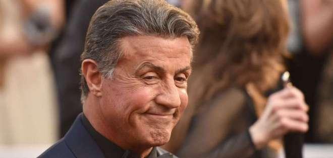 """La sorpresa por los 40 años de """"Rocky"""". Foto: AFP - Referencial"""