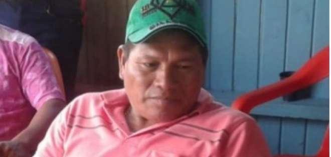 Denuncian asesinato de líder indígena en Colombia. Foto: Redes