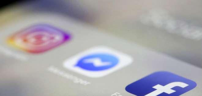 Regresan Facebook, Instagram y WhatsApp tras apagón mundial. Foto: AP
