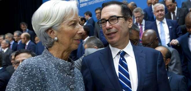 Prometen combatir desaceleración de la economía global. Foto: AP